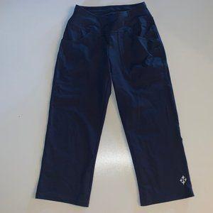 JOFIT Women's Blue Pull-On Crop Capri Pants XXS